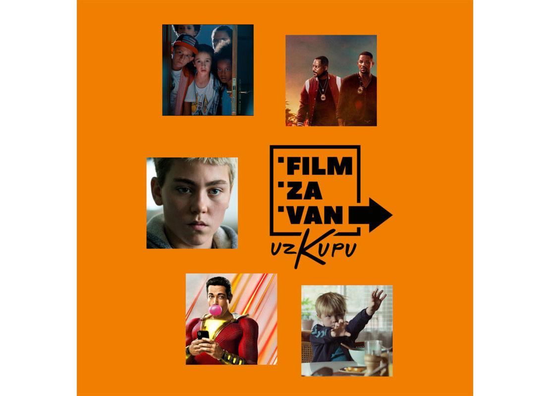 FILM ZA VAN (uz Kupu)