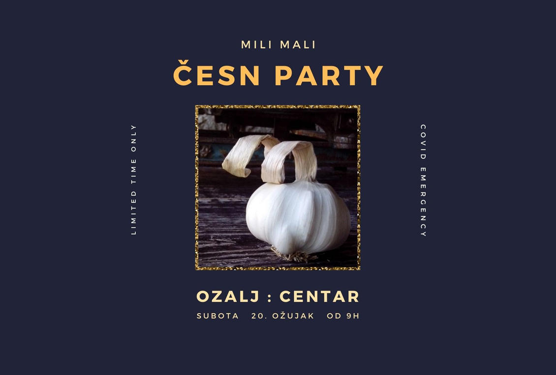 MILI MALI PARTY 20.03. U OZLJU