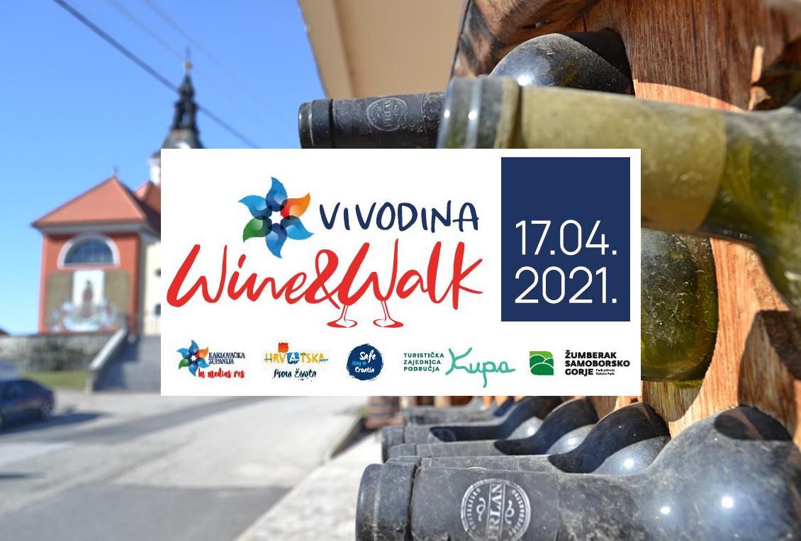 VIVODINA WINE AND WALK 17.04. – najava