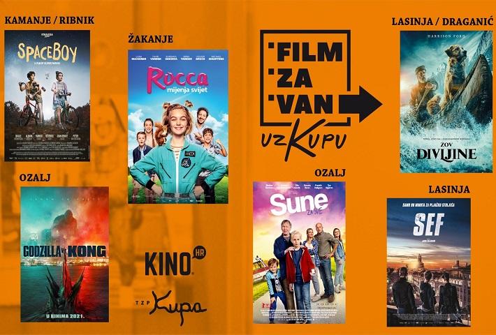 FILM ZA VAN UZ KUPU 2021
